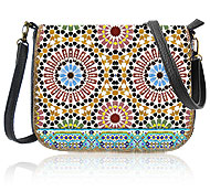 Mlavi Mexico collection wholesale fashion bags with Moroccan style pattern prints to gift shop, clothing & fashion accessories boutique, book store, souvenir shops worldwide.
