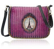 Mlavi Mexico collection wholesale fashion bags with Parisian style pattern prints to gift shop, clothing & fashion accessories boutique, book store, souvenir shops worldwide.