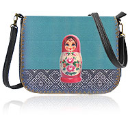 Mlavi Mexico collection wholesale fashion bags with Ukrainian style pattern prints to gift shop, clothing & fashion accessories boutique, book store, souvenir shops worldwide.