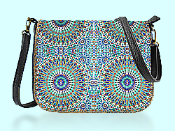 Mlavi Morocco collection saddle bags with original, beautiful Moroccan-themed prints for wholesale and online shopping