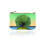 Mlavi Bird collection wholesale fashion pouches with vintage style bird illustration prints to gift shop, clothing & fashion accessories boutique, book store, souvenir shops worldwide.