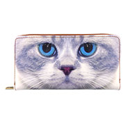 Mlavi Cat collection wholesale fashion wallets with cat prints to gift shop, clothing & fashion accessories boutique, book store, souvenir shops worldwide.